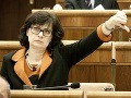 Žitňanská vyzýva, aby poslanci nenaleteli na pekné reči o justícii