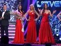Zábery z vyhlasovania výsledkov sútaže Miss Universe SR 2013.