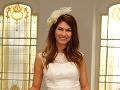 Hana Gallová sa vydávala v netradičných svadobných šatách.