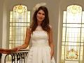 Hana Gallová sa vydávala v takýchto netradičných svadobných šatách.