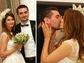 Hana Gallová a Adam Zavřel sú už manželmi. Spečatili to aj takýmto vášnivým bozkom.