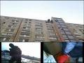 Akčný zásah na petržalskom sídlisku: Policajti sa k dílerom zlaňovali zo strechy!