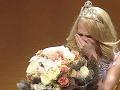 Prvá Vicemiss Nikoleta Duchoňová nevedela prestať plakať.