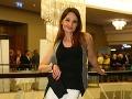 Herečka Andrea Karnasová sa na párty taktiež zabávala.