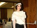 Miss Slovensko 2005 Ivica Sláviková si obliekla zaujímavý top.