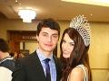 Miss Slovensko 2013 Karolína Chomisteková so svojím bratom.