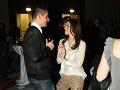 Športovec Peter Hamerlík, o ktorom sa hovorí, že má blízko k Magdaléne Šebestovej, sa zabával s jej sestrou Jarmilou.