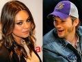 Milenci Ashton Kutcher a Mila Kunis si užili romantický víkend!