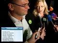 Nový dôkaz pádu vlády: Radičová v SMS tvrdí, že nebude spájať hlasovania!