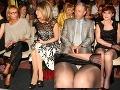 Pikantné zábery sexi starostky: Na módnej prehliadke ukázala nohavičky!
