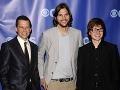 Jon Cryer, Ashton Kutcher a Angus T. Jones
