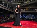 Na párty v Košiciach predviedla svoju tvorbu aj módna dizajnérka Jana Kuzmová.