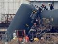 Výbuch vlaku s chemikáliami má jednu obeť, vyše 30 ľudí sa zranilo