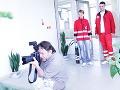 Aj fotograf Martin Črep podporil Slovenský Červený kríž