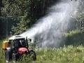 Komáre budú v Bratislave postrekovať ešte v piatok a sobotu ráno