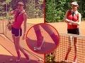 Nečakaný úlet Verešovej: Andrea, čo to máš na nohách?!