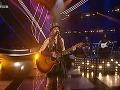 Sabina Křováková zaspievala ako prvá. Pred porotou predviedla skladbu od skupiny 4 Non Blondes s názvom What's Up.