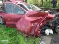 Na východe sa zrazilo auto s vlakom, štyri osoby utrpeli ľahšie zranenia
