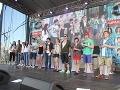 Súťažiaci prišli pozrieť svojich fanúšikov z východu v kompletnej zostave.