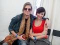 Karol Komenda a Natalie Kubištová sa počas voľných chvíľ venovali jeden druhému.