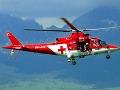 Pri Piešťanoch zasahoval vrtuľník, zachraňoval muža (61) v bezvedomí