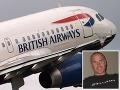 Bordel na palube British Airways: Pilot počas letu fotí a posiela žhavé SMS-ky!