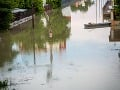 Záplavy v Komárne
