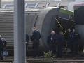 Za tragické vykoľajenie vlaku pri Paríži môže chybná výhybka