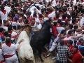 Chaos, tlačenica, zúrivé býky: Traja ľudia dobodaní rohmi, 24 v nemocnici
