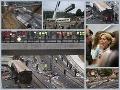 Obrovská tragédia v Španielsku: Vlak sa vykoľajil v pekelnej rýchlosti, 80 mŕtvych!