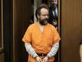 Beštiálny únosca z Clevelandu sa už na slobodu nedostane: Dostal doživotie!