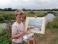 Malý Monet (10) bohatne vďaka genialite: Maľuje obrazy a je milionárom