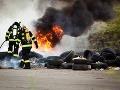 Obrovský požiar vo Svite: Horelo desať garáží, príčina zatiaľ nie je známa