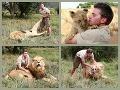 FOTOREPORTÁŽ Koleduje si o smrť? Mladík (18) dáva levovi masáž nôh!
