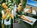 Kráska z verejnoprávnej dovolenkovala na Miami: Takto ju na obraze nikdy neuvidíte!