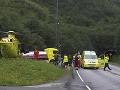 Požiar v druhom najväčšom tuneli Nórska: Hospitalizovali 55 ľudí