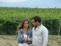 Nela Pocisková a Filip Tůma v Búrlivom víne