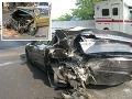 FOTO hrozivej zrážky na D1: Maserati a Volvo na šrot, toto nemohol nikto prežiť!