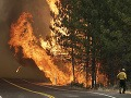Obrovský požiar v USA: Ohrozuje dodávky elektriny a vody do San Francisca