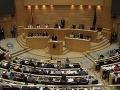 Silné dažde spôsobili komplikácie v Španielsku: Zatopilo parlament
