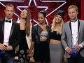Ako prvé postúpili do semifinále krásky zo speváckej formácie Forsomeone.