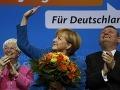 Jasné víťazstvo Merkelovej: Súperov prevalcovala, absolútnu väčšinu však nemá!