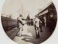 Stanica Kingsbury a Neasden, okolo roku 1890.