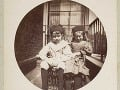 Dve deti na balkóne, 1888.