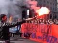 Tisíce nahnevaných ľudí v uliciach: Talianom sa nepáčia úsporné opatrenia!