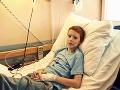 Malí pacienti pred kamerami spievali text Dominiky Mirgovej a Suverena.