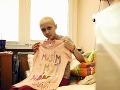 Deti z onkológie zažívajú ťažké chvíle, ale nestrácajú nádej.