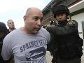 Takto polícia zatýkala šéfa siete, Josepha Manuela Huntera