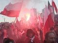 Poľsko zasiahli masové demonštrácie: Výtržníci podpálili aj ambasádu!