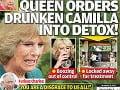 Camilla je podľa magazínu Globe závisllá na alkohole a na kráľovnin príkaz skončila v odvykacom centre.